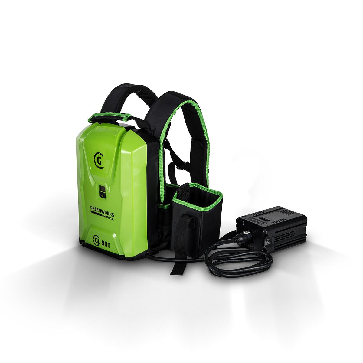 greenwork com batterie dorsale