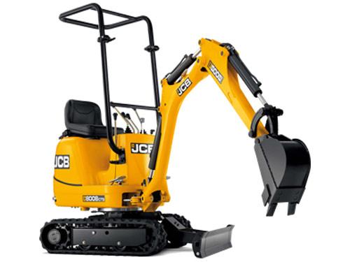 mini-excavatrice jcb 8008