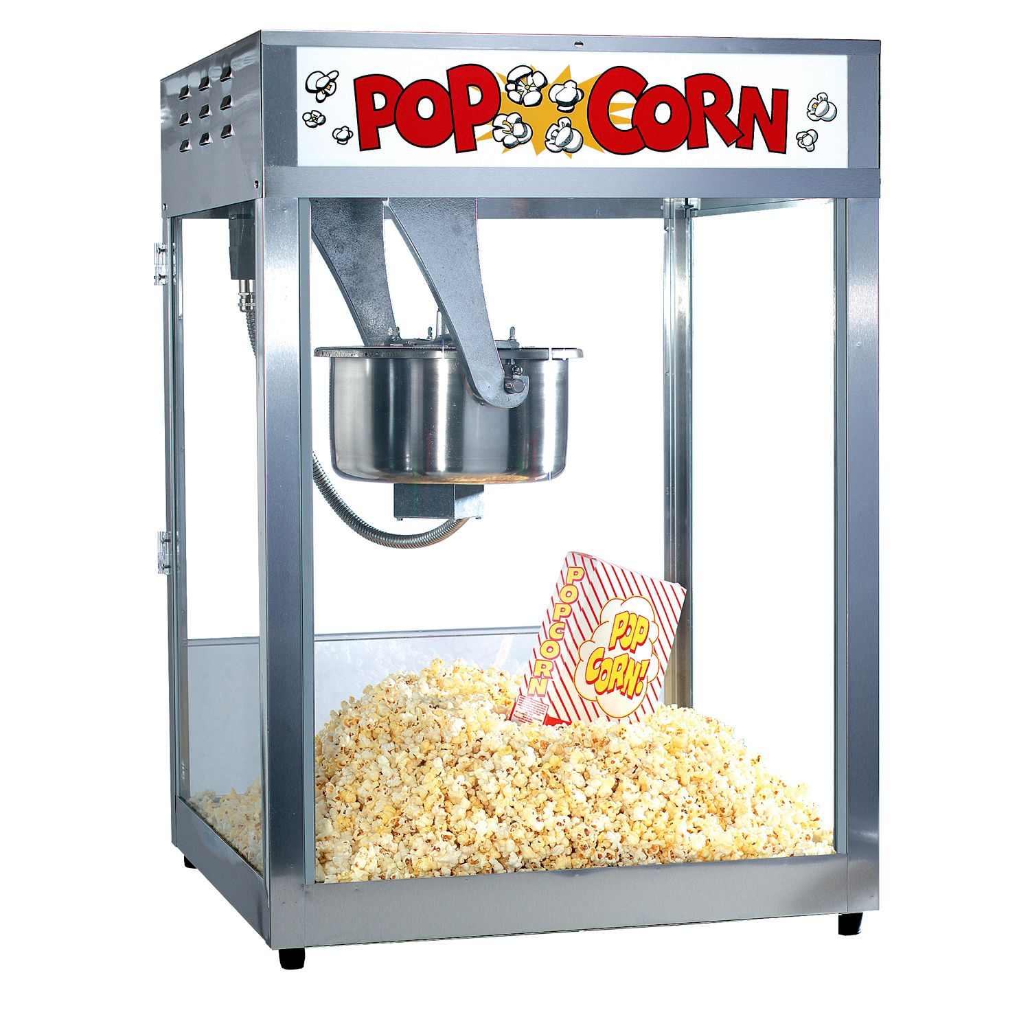 location machine popcorn